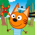 Three cats: Games for kids 2-5 years old