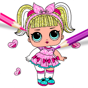 Скачать Куклы Лол Раскраска с блестками 1.0 APK на андроид ...