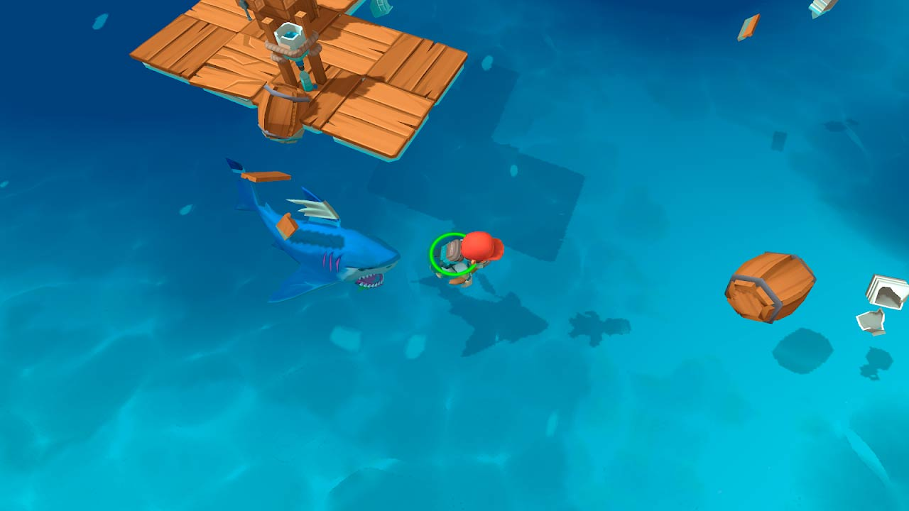 Download Epic Raft: Fighting Zombie Shark Survival 0.8.41 APK for android free